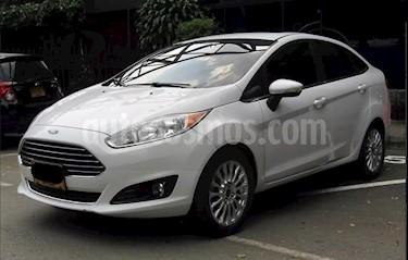 Ford Fiesta Sedan Titanium usado (2015) color Blanco precio $35.800.000