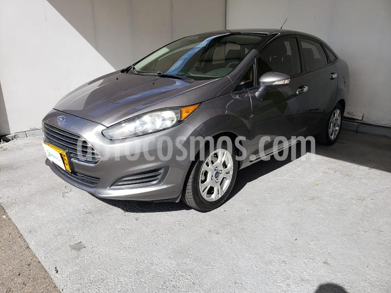 Ford Fiesta Sedan SE  usado (2014) color Gris Nocturno precio $27.990.000