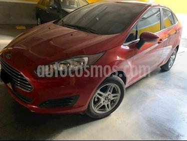 Ford Fiesta Sedan SE Sportback  usado (2018) color Rojo precio $37.990.000