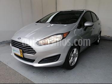 Ford Fiesta Sedan SE  usado (2018) color Plata Puro precio $39.990.000