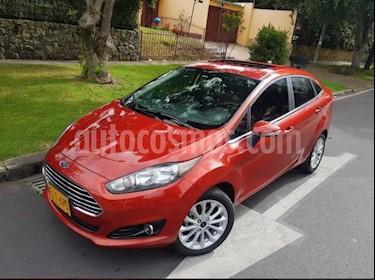 Ford Fiesta Sedan Titanium Aut usado (2018) color Rojo precio $44.500.000