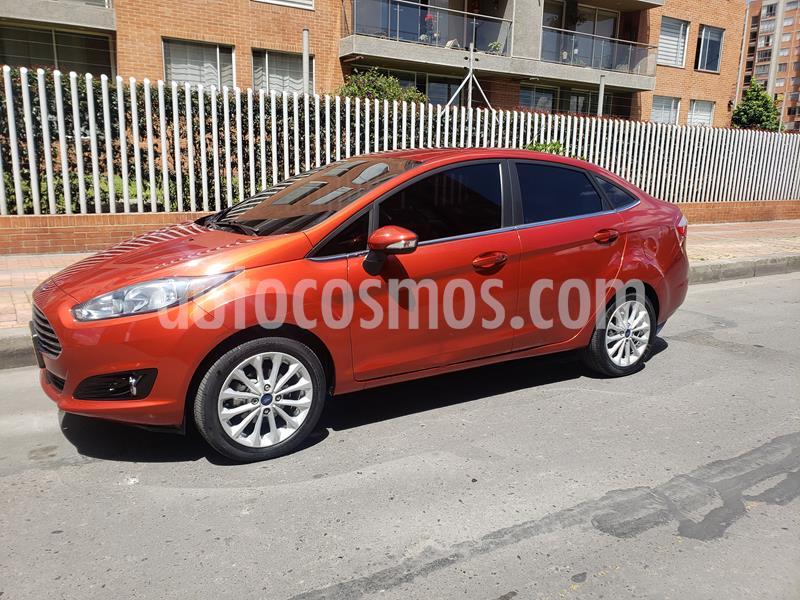 Ford Fiesta Sedan Titanium Aut usado (2018) color Rojo precio $41.900.000