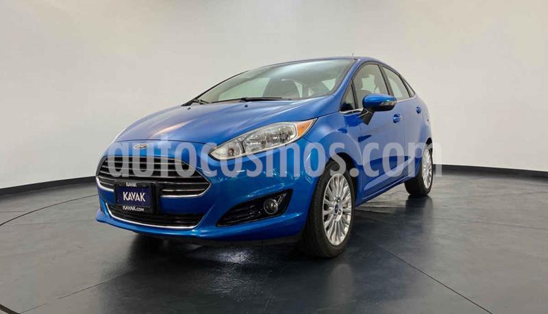 Ford Fiesta Sedan S Aut usado (2015) color Azul precio $177,999