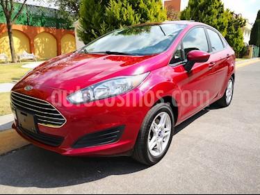 Ford Fiesta Sedan SE usado (2017) color Rojo Rubi precio $148,000