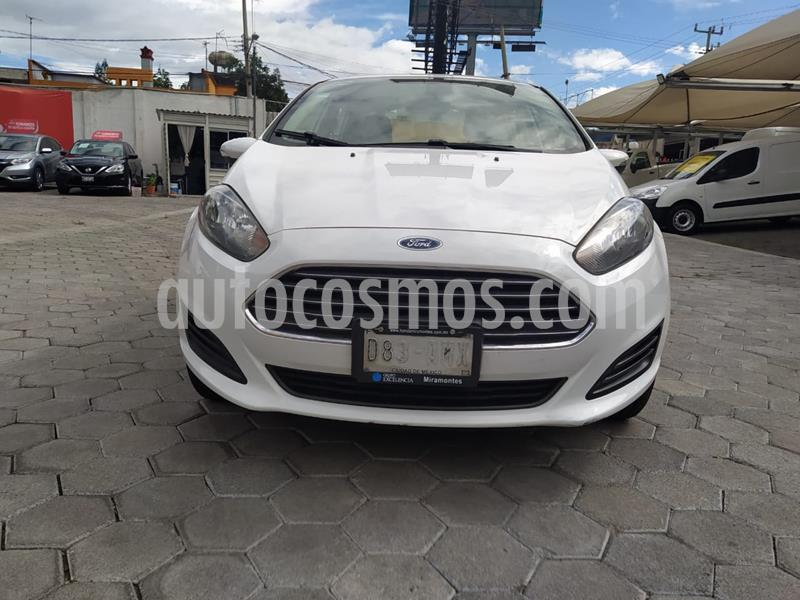 Ford Fiesta Sedan SE Aut usado (2016) color Blanco Oxford precio $140,000