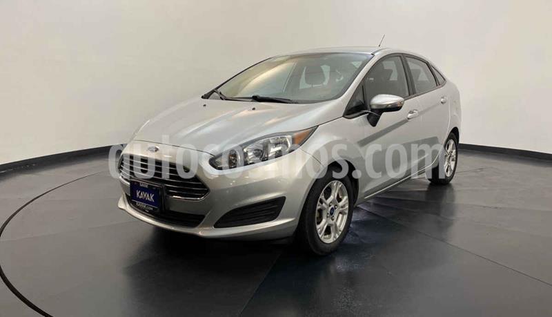Ford Fiesta Sedan S Aut usado (2015) color Plata precio $159,999