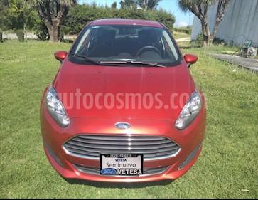 Ford Fiesta Sedan SE usado (2018) color Rojo precio $169,000