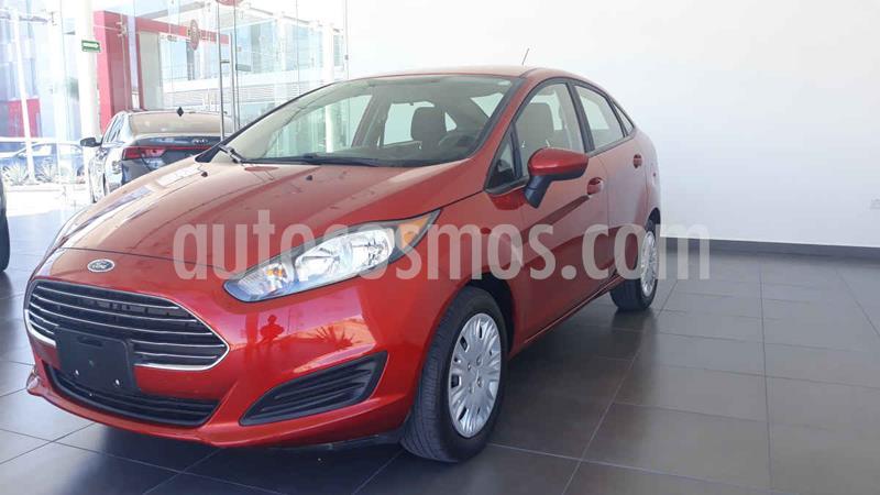 Ford Fiesta Sedan S usado (2018) color Rojo precio $185,000