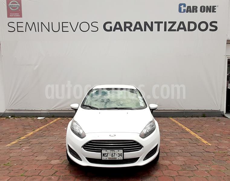 Ford Fiesta Sedan S usado (2015) color Blanco precio $125,000