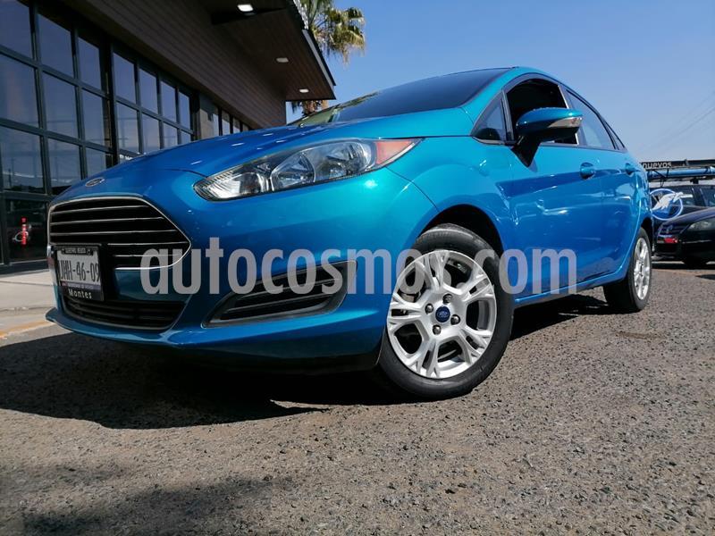 Ford Fiesta Sedan SE usado (2014) color Azul Brillante precio $115,000