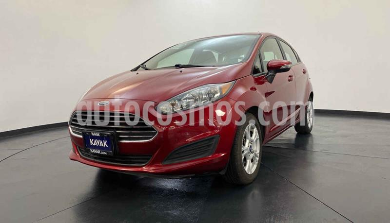 Ford Fiesta Sedan S Aut usado (2015) color Rojo precio $154,999