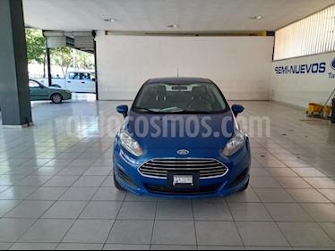 Ford Fiesta Sedan SE Aut usado (2018) color Azul Brillante precio $195,000