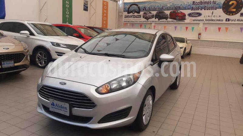 Ford Fiesta Sedan S Aut usado (2016) color Plata precio $148,000