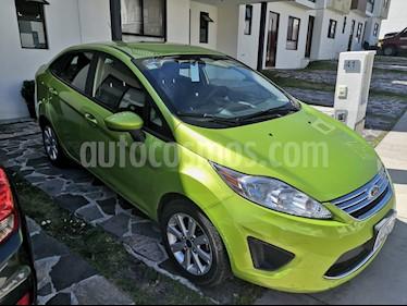 Ford Fiesta Sedan SE usado (2011) color Verde Orquidea precio $84,000
