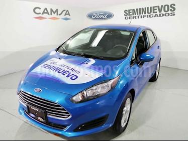 Ford Fiesta Sedan SE usado (2017) color Azul precio $181,900