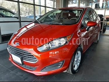 Ford Fiesta Sedan SE usado (2019) color Naranja precio $214,000