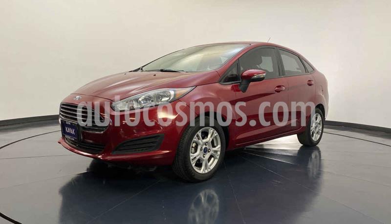 Ford Fiesta Sedan S Aut usado (2015) color Rojo precio $159,999