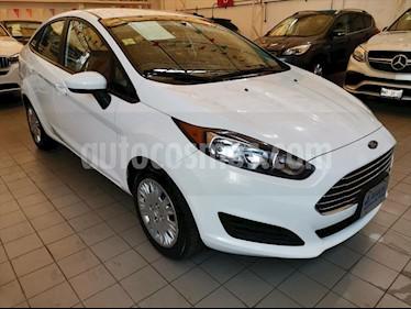 Ford Fiesta Sedan 4P S 5VEL 1.6L usado (2014) color Blanco precio $122,000