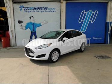 Ford Fiesta Sedan SE usado (2018) color Blanco precio $120,000