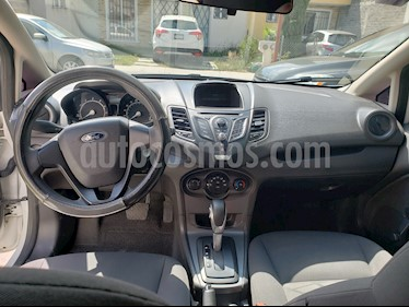 Ford Fiesta Sedan S Aut usado (2014) color Blanco Oxford precio $110,000