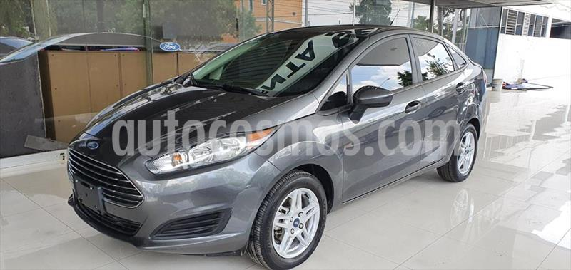 Ford Fiesta Sedan SE usado (2019) color Gris Oscuro precio $215,000