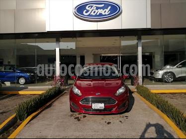 Ford Fiesta Sedan SE HB L4/1.6 MAN usado (2016) color Rojo precio $147,000