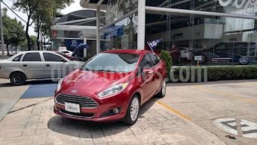 Ford Fiesta Sedan TITANIUM L4/1.6 AUT usado (2016) color Rojo precio $187,000