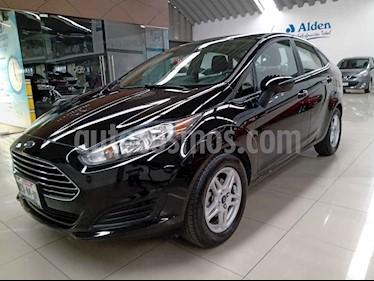 Ford Fiesta Sedan SE Aut usado (2018) color Negro precio $185,000