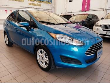Ford Fiesta Sedan SE Aut usado (2015) color Azul Electrico precio $145,000