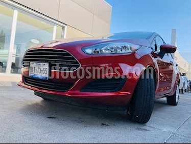 Ford Fiesta Sedan S usado (2017) color Rojo precio $158,000