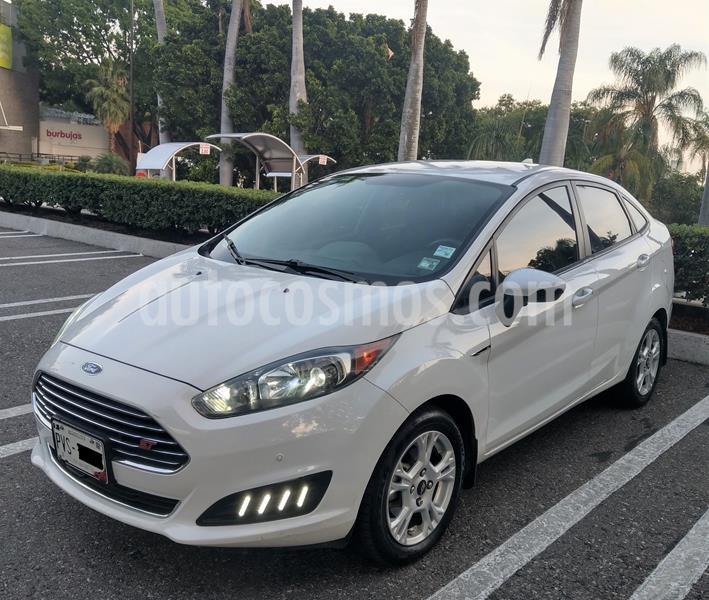 Ford Fiesta Sedan SE Aut usado (2015) color Blanco precio $138,000