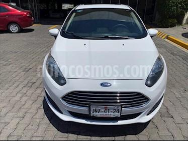 Foto Ford Fiesta Sedan SE Aut usado (2017) color Blanco precio $189,000