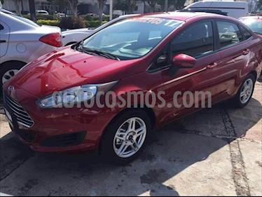 Ford Fiesta Sedan SE usado (2017) color Rojo precio $189,000