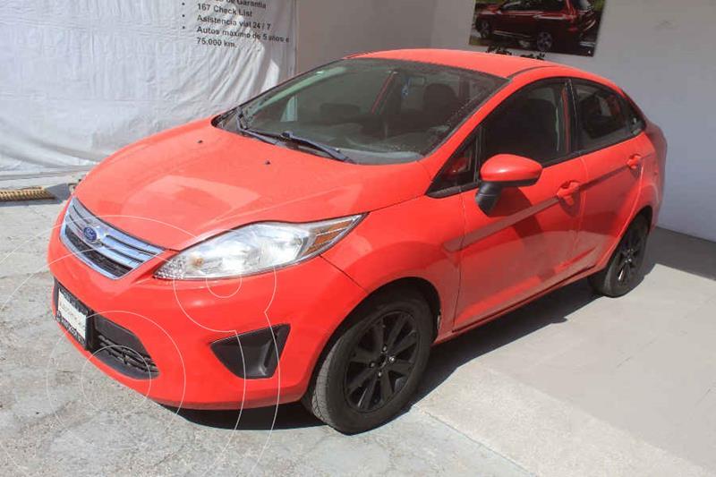 Foto Ford Fiesta Sedan SE  usado (2013) color Rojo precio $122,000