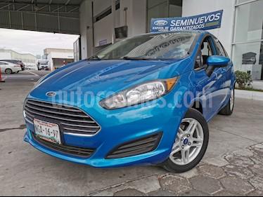 Ford Fiesta Sedan SE Aut usado (2017) color Azul Brillante precio $190,000