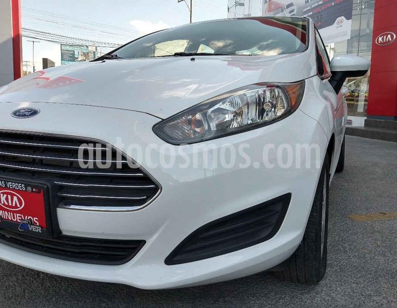 Ford Fiesta Sedan SE Aut usado (2017) color Blanco precio $179,900