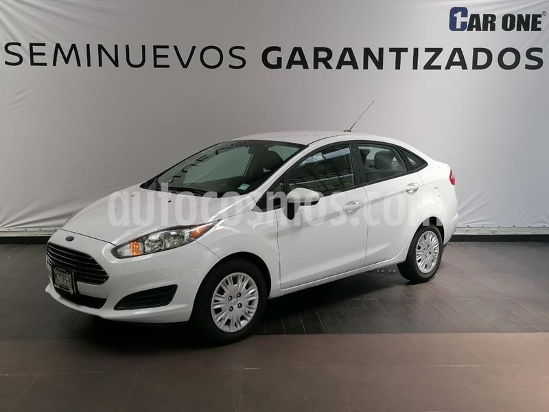 Ford Fiesta Sedan S usado (2015) color Blanco precio $124,900