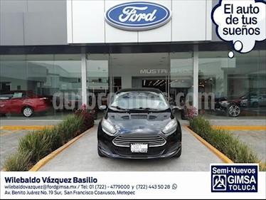 Ford Fiesta Sedan SE Aut usado (2016) color Negro precio $173,000
