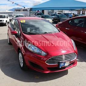Ford Fiesta Sedan S usado (2017) color Rojo precio $169,000