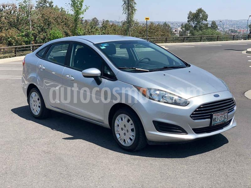 Ford Fiesta Sedan S Aut usado (2016) color Plata precio $175,000