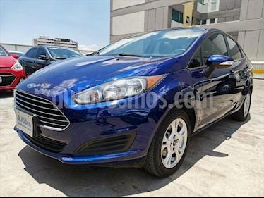 Ford Fiesta Sedan SE L4/1.6 AUT usado (2016) color Azul Electrico precio $158,000