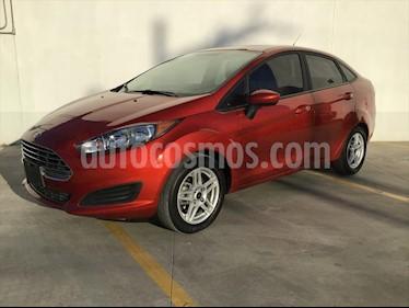 Ford Fiesta Sedan SE Aut usado (2018) color Rojo precio $210,000