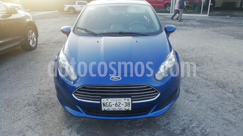 Ford Fiesta Sedan SE usado (2018) color Azul precio $173,000