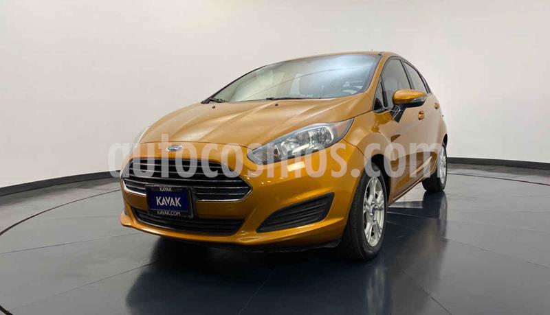 Ford Fiesta Sedan S Aut usado (2015) color Naranja precio $162,999