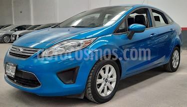 Ford Fiesta Sedan SE usado (2012) color Azul precio $110,000