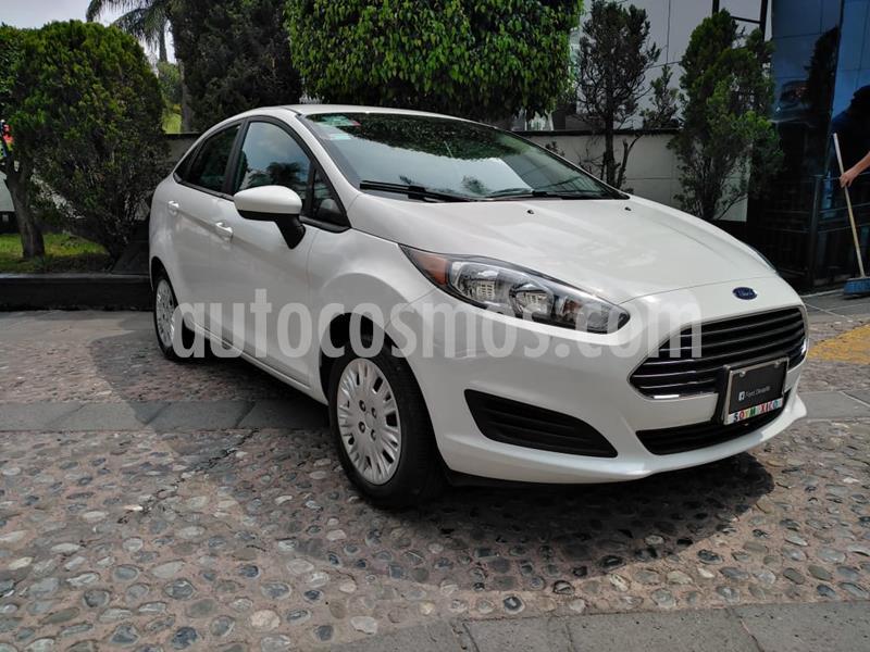 Ford Fiesta Sedan S Aut usado (2019) color Blanco precio $210,000