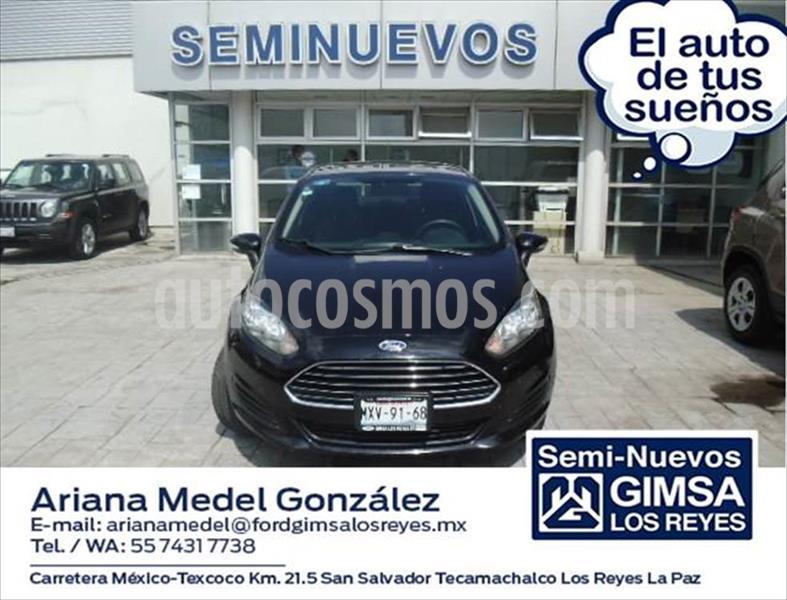 Ford Fiesta Sedan SE L4/1.6 MAN usado (2016) color Negro precio $145,000