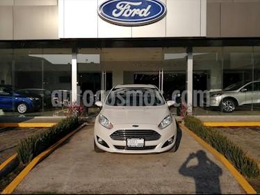 Ford Fiesta Sedan Titanium Aut usado (2016) color Blanco precio $169,000