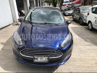 Ford Fiesta Sedan SE usado (2016) color Azul Brillante precio $160,000