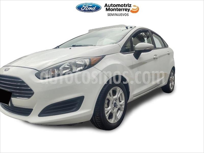Ford Fiesta Sedan 4P SE L4 1.6 AUT usado (2015) color Blanco precio $145,000